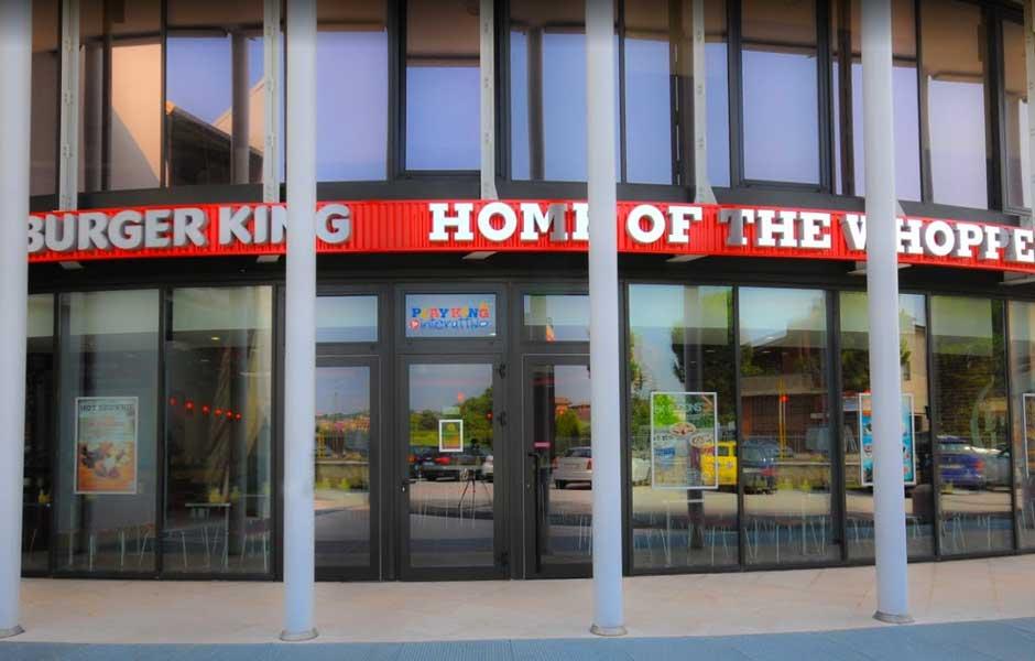 Burger King Bussolengo veduta esterna