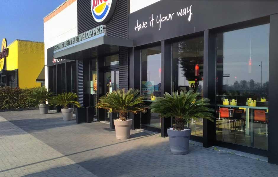 Burger King Castenedolo entrata