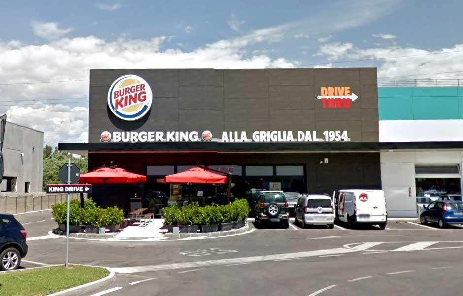 Burger King San Giovanni Lupatoto veduta esterna