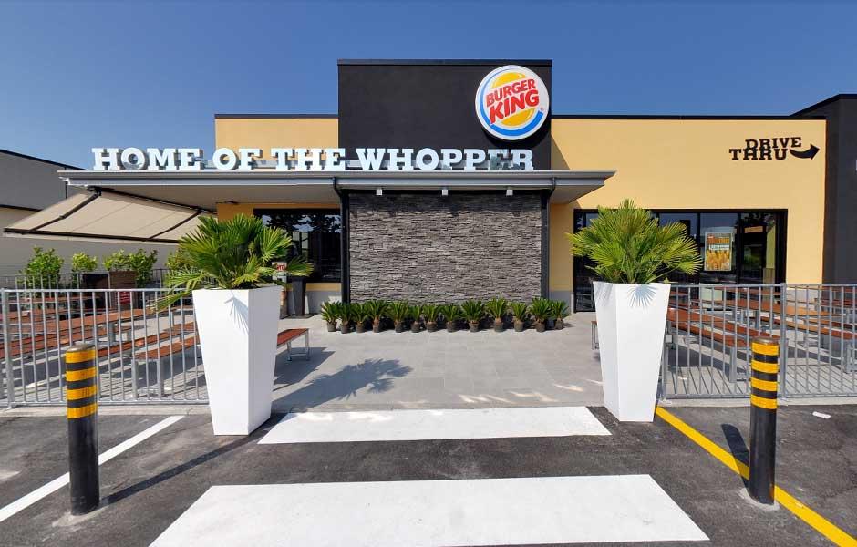 Burger King Manerba del Garda veduta esterna