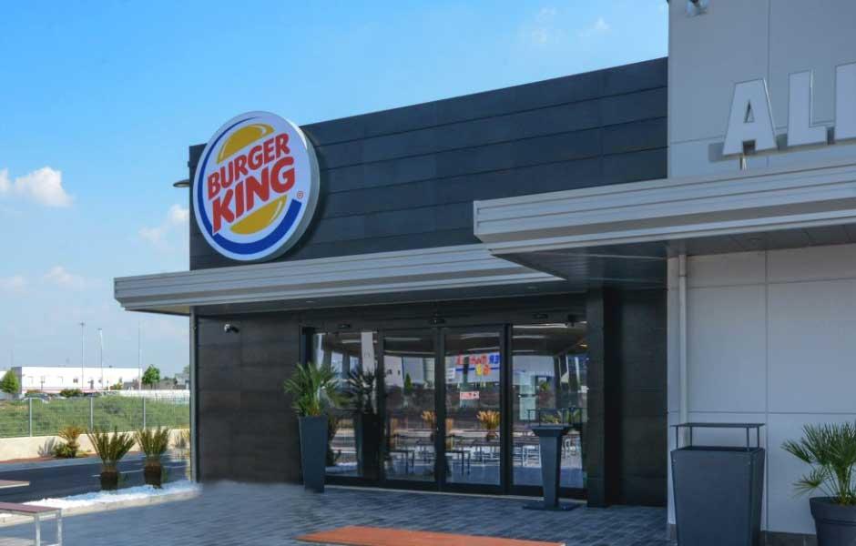 Burger King Mantova veduta esterna