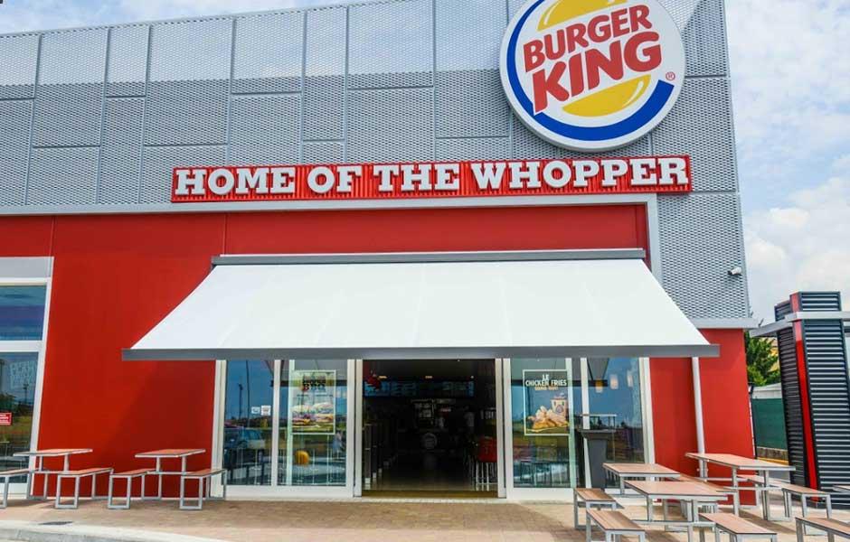 Burger King Rovato veduta esterna