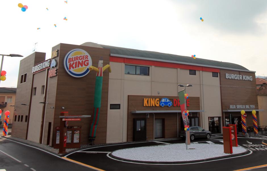 Burger King Concesio veduta esterna