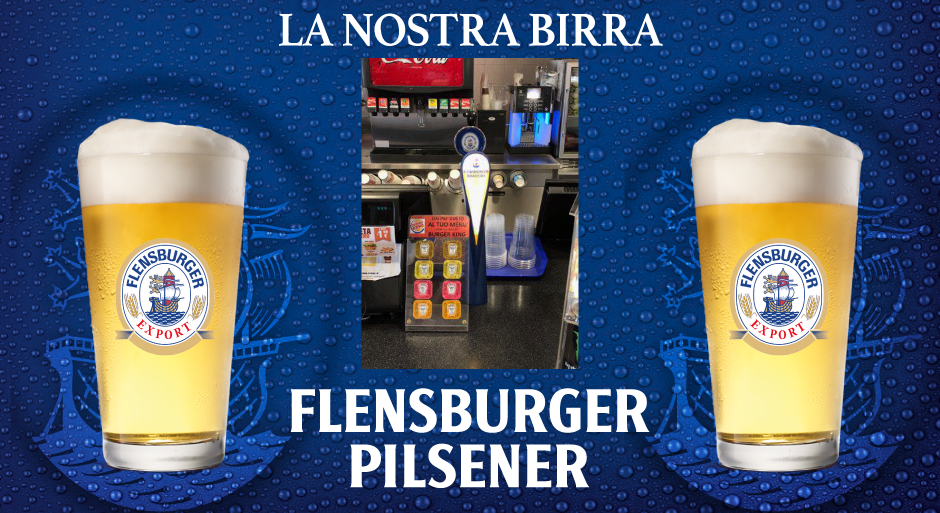 la nostra birra Flensburger Pilsner