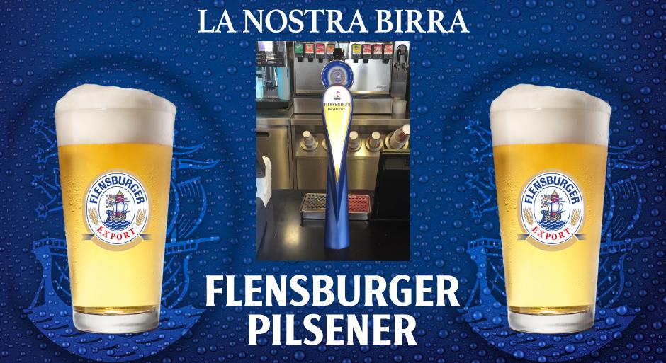 La nostra birra Flensburger Pilsener