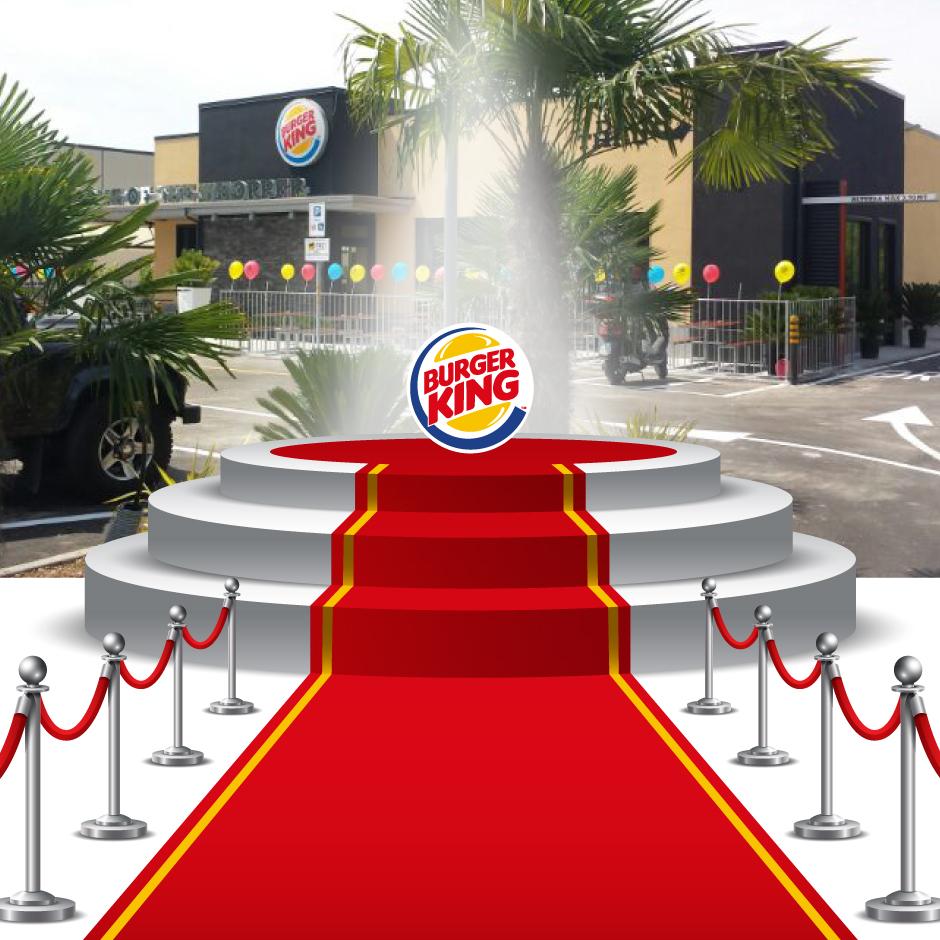 """2013 Arilica riceve a Dublino il premio Burger King Word come """"Migliore immagine della Burger King"""" Burger King di Manerba del Garda"""
