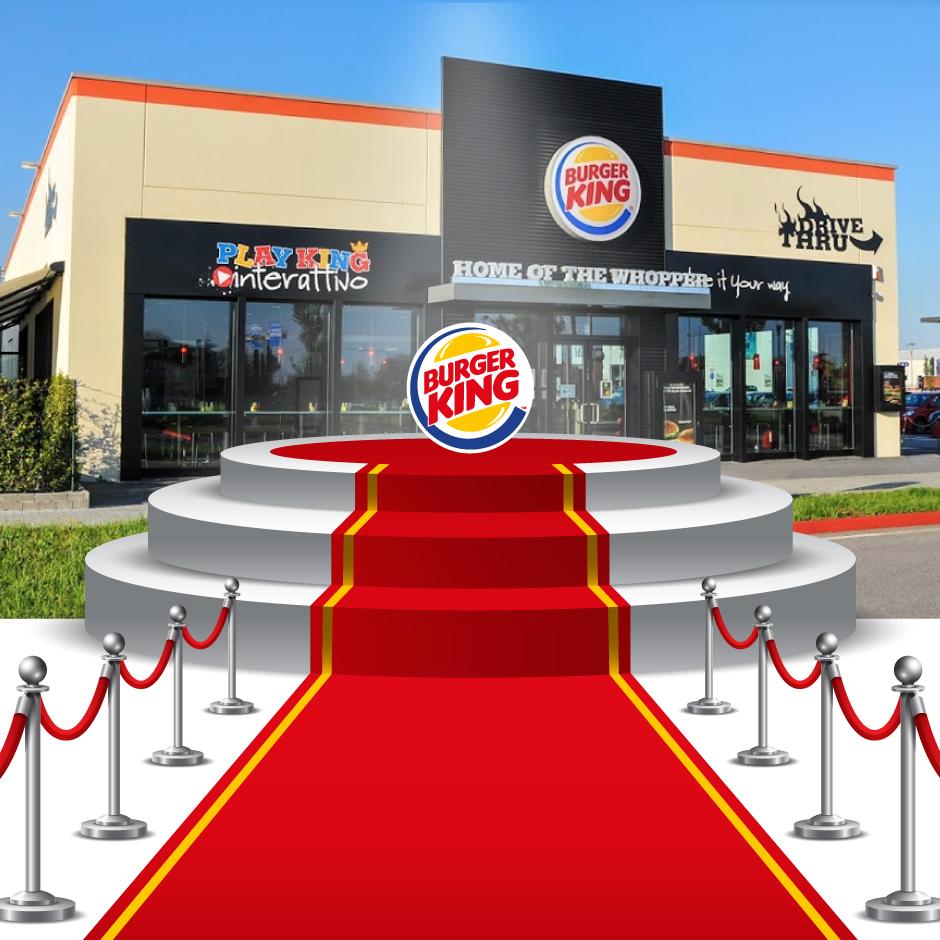 """2011 Arilica riceve a Berlino il premio dalla Burger King Word come """" Miglior servizio al cliente """" Burger King di Castenedolo"""