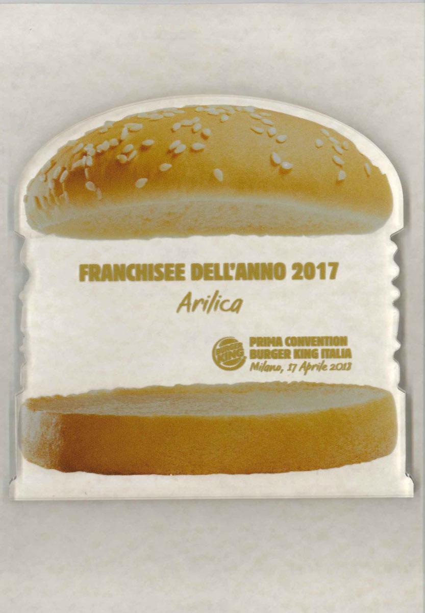 Premio burger king miglior franchisee dell anno 2018