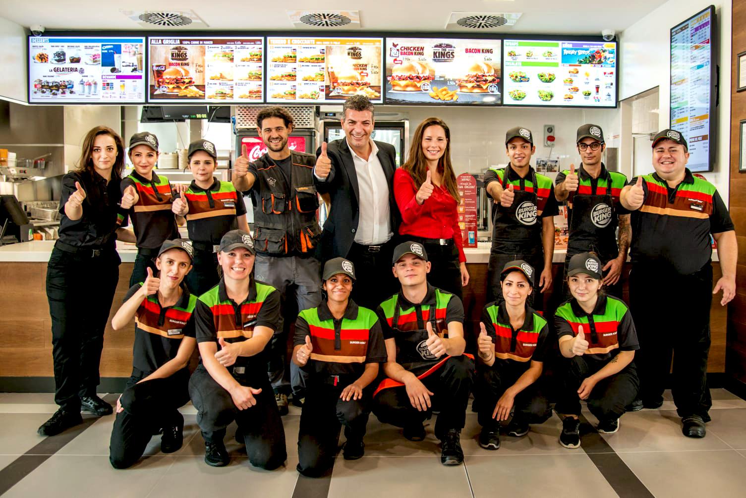 la squadra di Burger King by Arilica